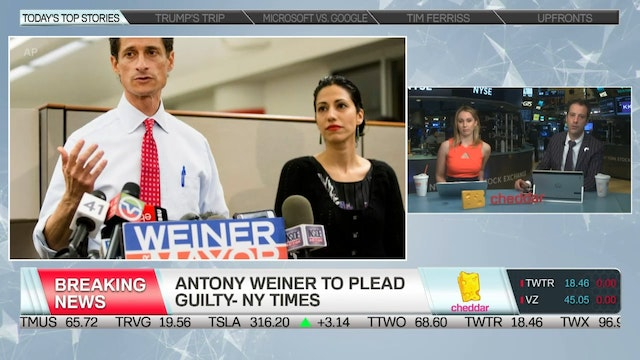 BREAKING NEWS: Anthony Weiner to Plea...