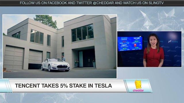 Tencent Buys 5% Stake in Tesla