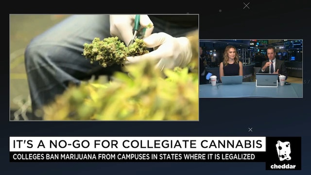 The Cannabis Battle Brewing on Colleg...