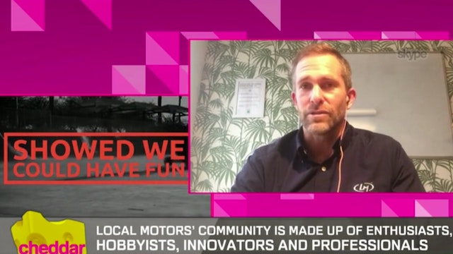 Local Motors CEO On The Future Of Sel...