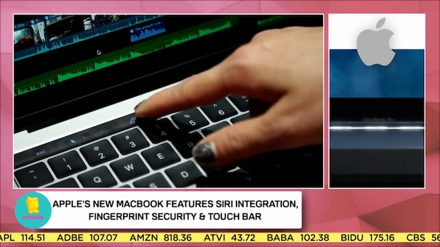 Trying out the MacBook Pro Touch Bar
