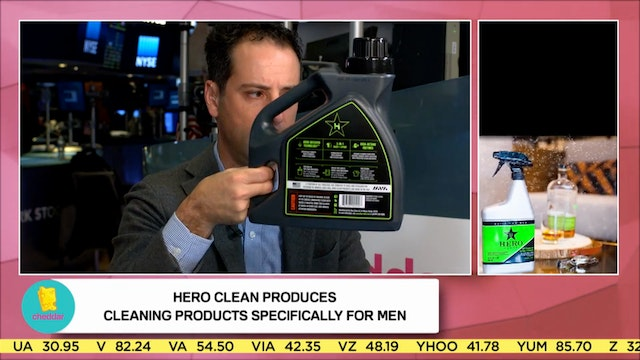 Hero Clean on making a cleaning produ...