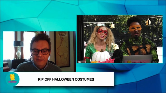 We talk unofficial Halloween costumes...