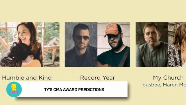Ty Herndon previews the 2016 CMA Awards