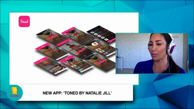 Natalie Jill talks about her workout app