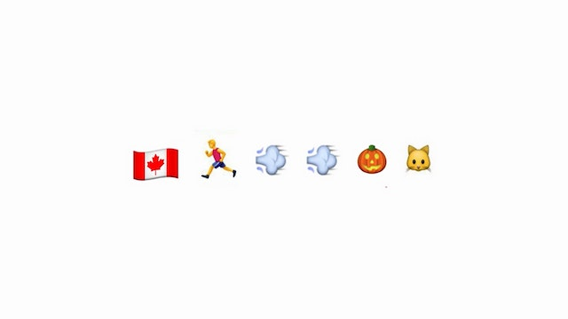 Are emoji considered to be its own la...