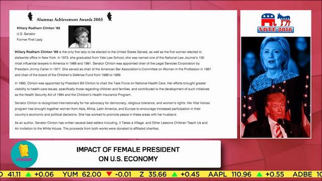 Victoria Budson on a Clinton Presidency