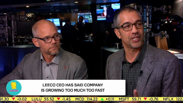 Is LeECO growing too quickly?