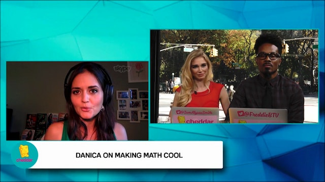 Danica McKellar talks about making ma...