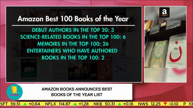 How Amazon chooses its 100 Best Books...