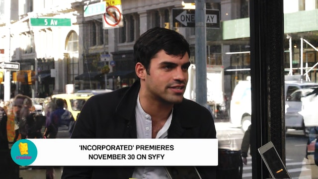 INCORPORATED's Sean Teale Talks About...