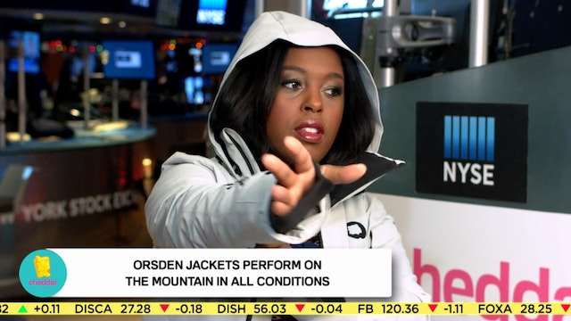 Sara Segall on Orsden's New Ski Jacke...
