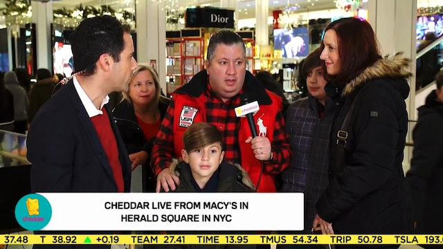 Jon Talks to Black Friday Shoppers at...