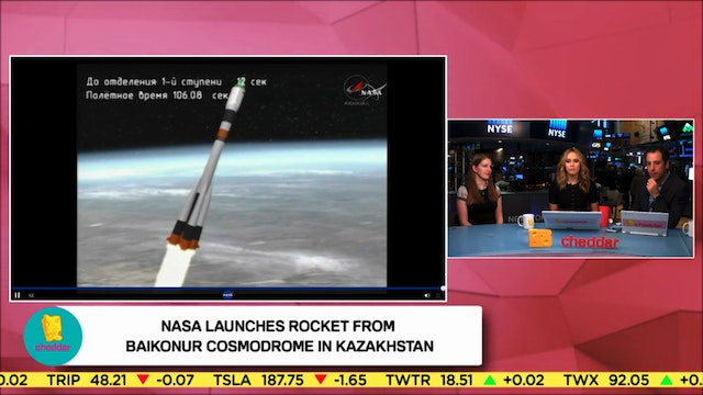 NASA Rocket Lifts Off From Kazakhstan