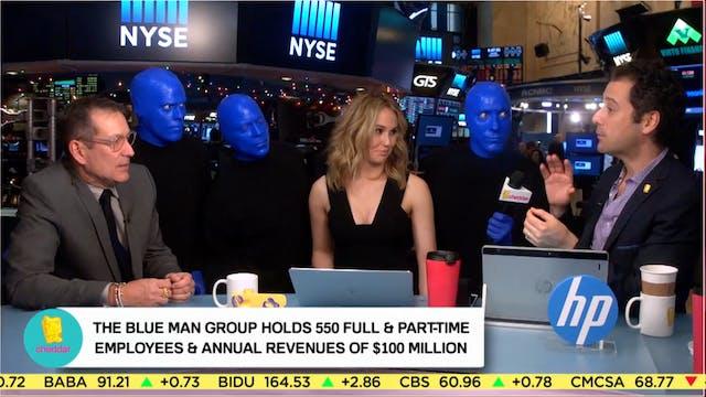 Blue Man Group Celebrates 25th Annive...