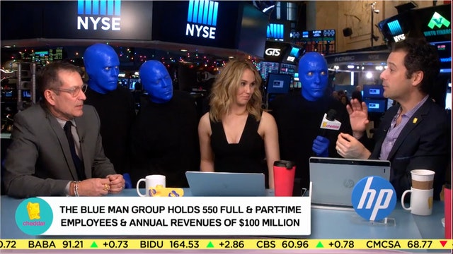 Blue Man Group Celebrates 25th Annive...