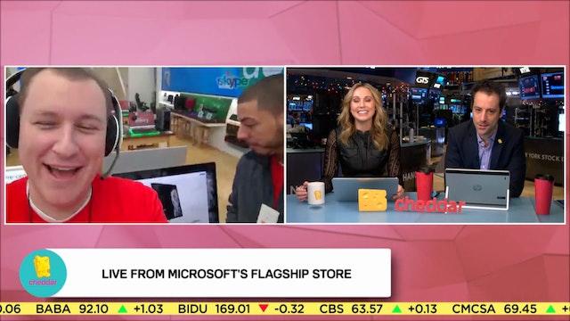 Microsoft's Bill Madden Shows Us Arou...