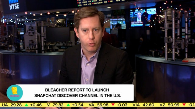 Bleacher Report to Launch Snapchat Di...