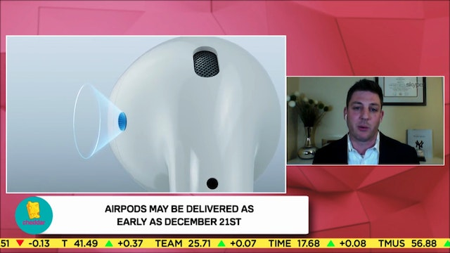 Lou Basenese Talks Apple's AirPod Sur...