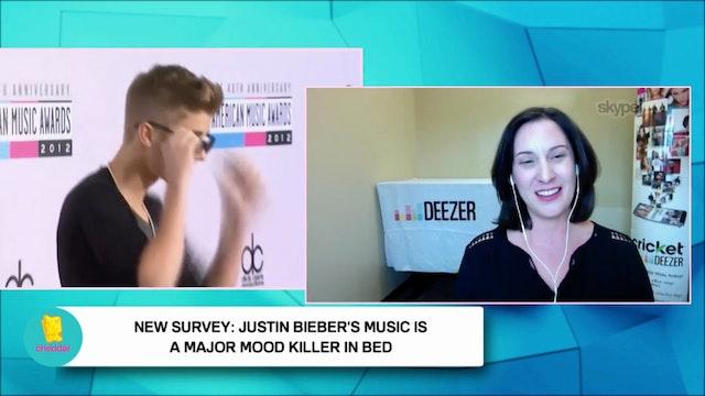 Deezer Says Bieber's Music Is a Mood ...