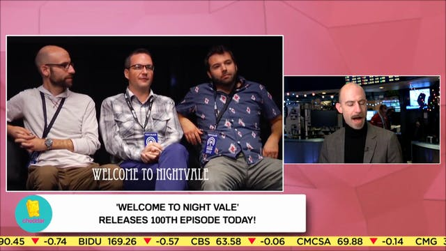 Welcome to Night Vale Talks About 100...
