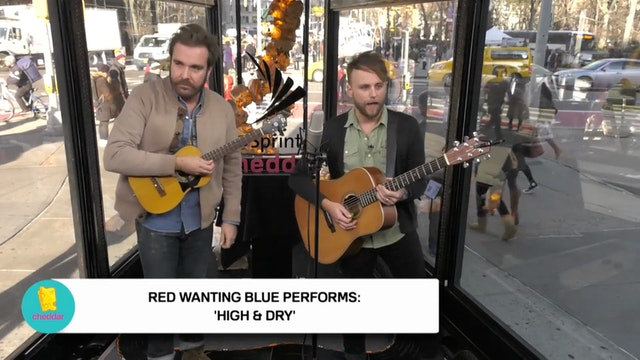 Red Wanting Blue Performs at the Flat...