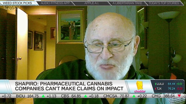 The Cannabis Stocks Harris Shapiro Th...
