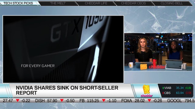Ed Carson on Nvidia Shares Sinking on...