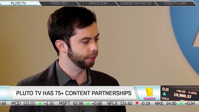 Pluto TV on Where the Company and Pla...