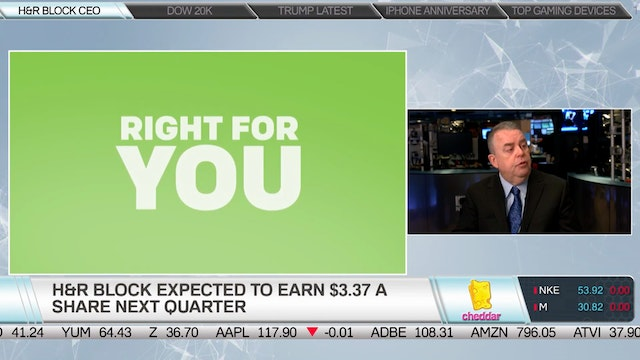 H&R Block CEO Bill Cobb on the Compan...