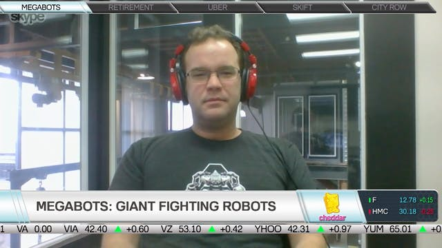 MegaBots: Half-Robot, Half-Entertainm...