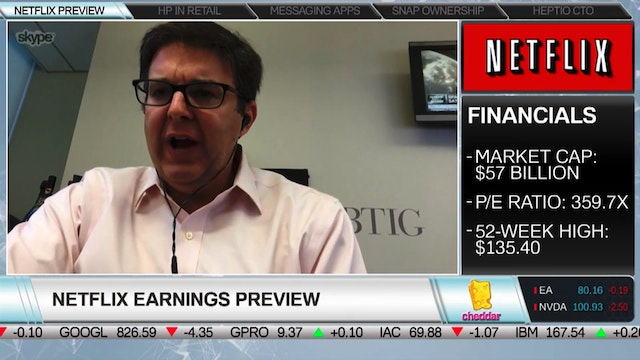 BTIG's Rich Greenfield on Netflix Com...