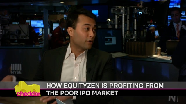 CHEDDAR | CEO of EquityZen Atish Davd...