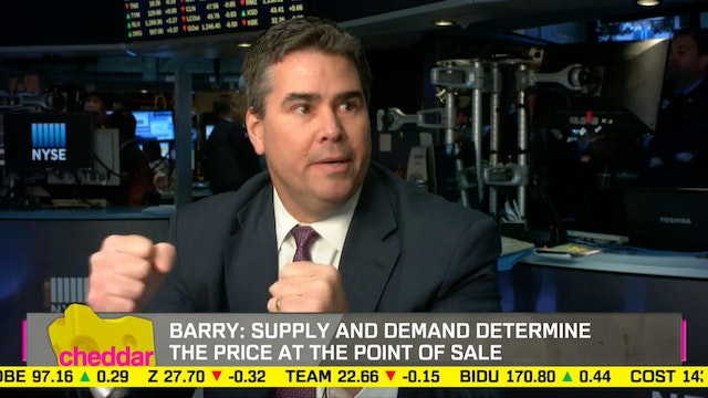 NYSE's Trading Floor Governor Rich Ba...