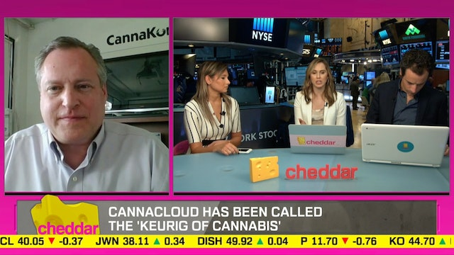"CannaKorp CEO on the 'Keurig"" of Weed..."