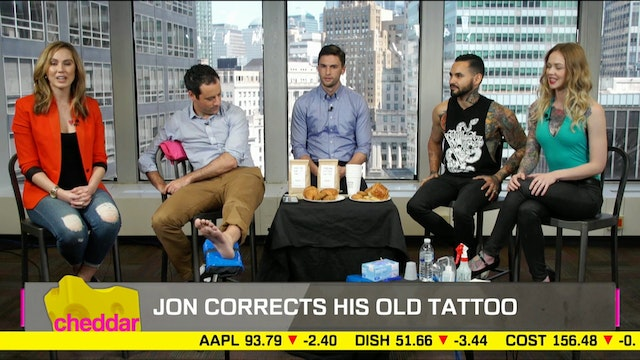 Our Host Jon Steinberg gets a Tattoo ...
