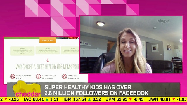 Super Healthy Kids CEO Talks Top Snac...