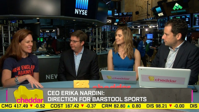 New Barstool Sports CEO Erika Nardini...