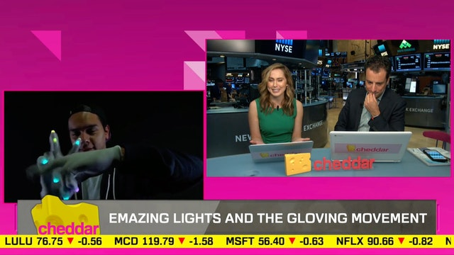 Emazing Lights are leading the 'glovi...