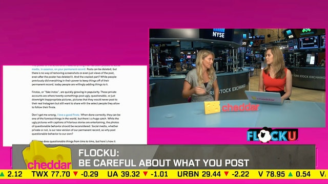FlockU is online news for college cam...