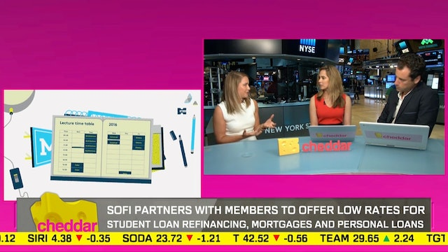 SoFi is a startup that is helping stu...