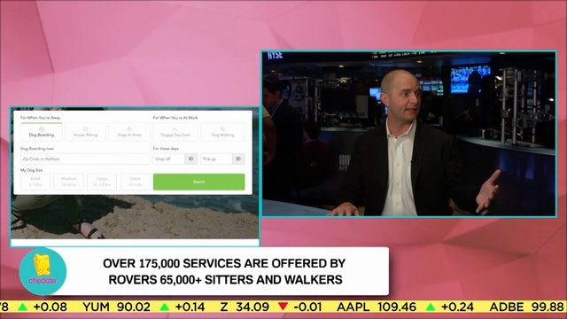 ROVER CEO AARON EASTERLY Discusses ho...