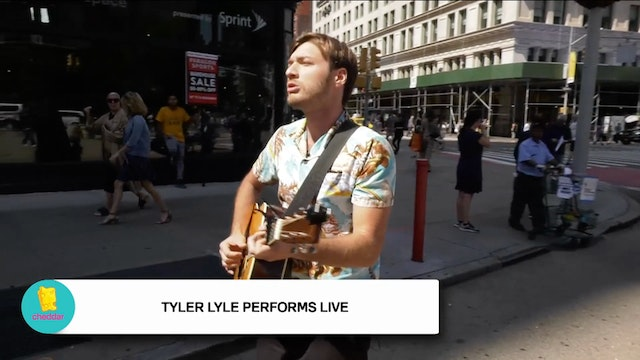 Tyler Lyle Performs Live