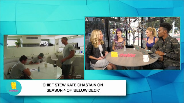 Going Below Deck with Chief Stew Kate...
