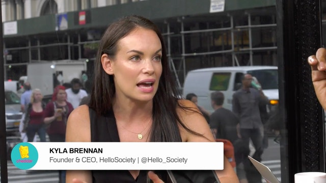 Kyla Brennan, Founder and CEO of Hell...