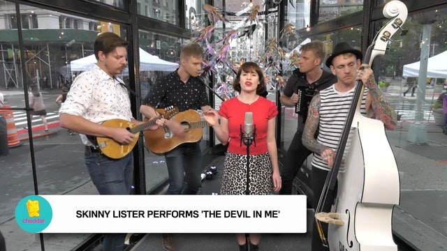 Skinny Lister performs 'The Devil in ...