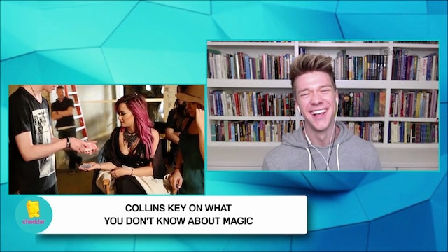 Collins Key on the magic trick that s...