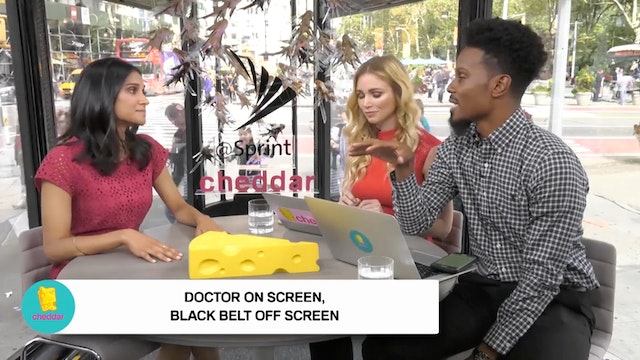 Code Black's Melanie Chandra on her r...