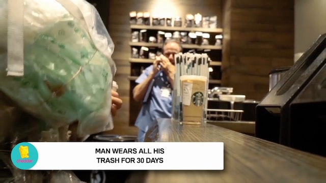 What does 30 days of trash look like?...