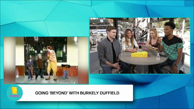 "Freeform's ""Beyond"" Star Burkely Duff..."